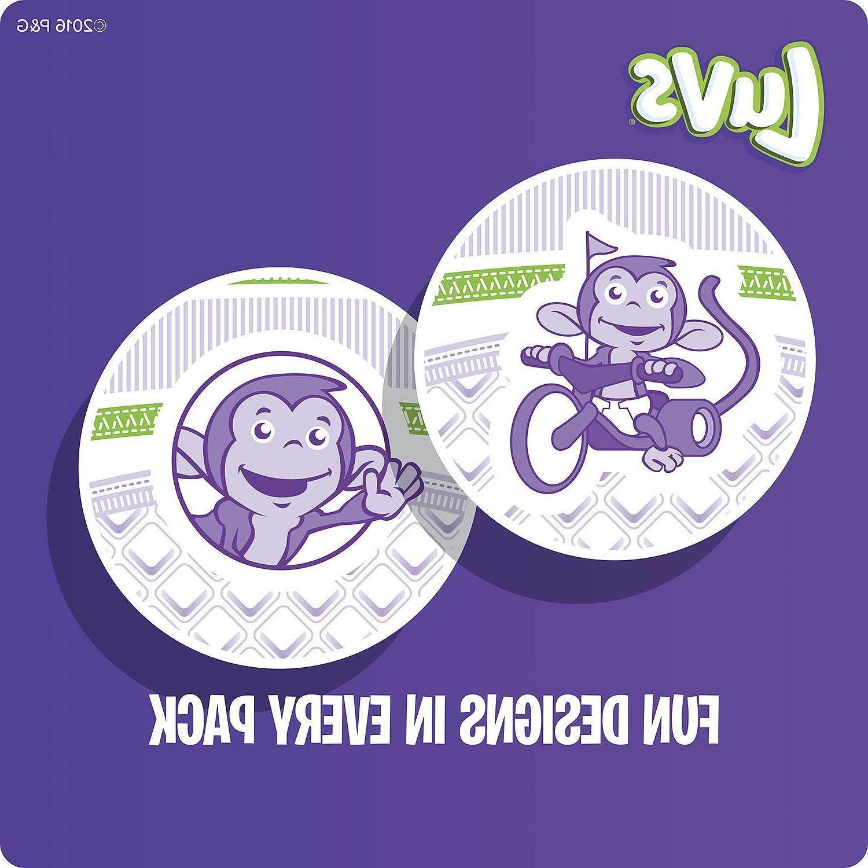 LUVS Ultra Diaper Size Newborn 1, 2, 3, 5, - CHOOSE COUNT