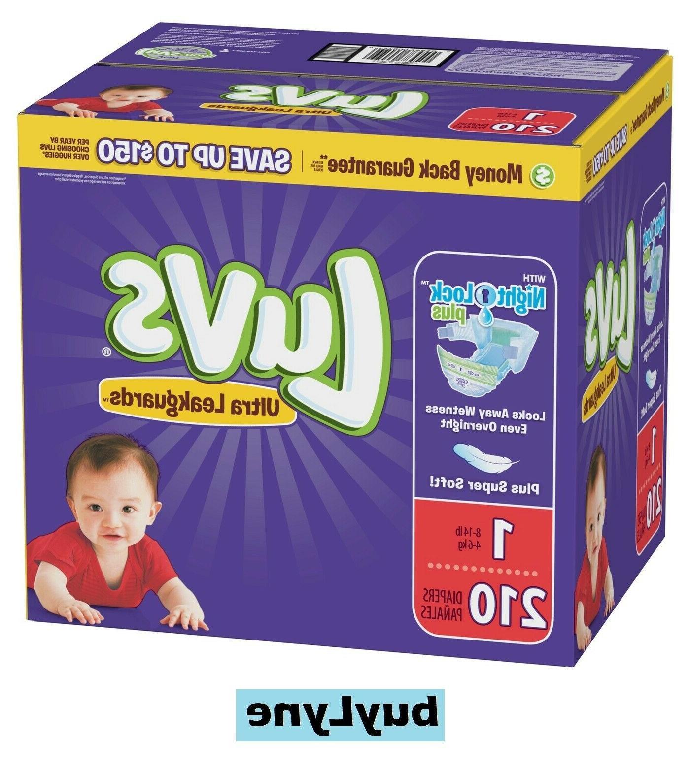 Luvs Ultra Leakguards Diapers - Size 1