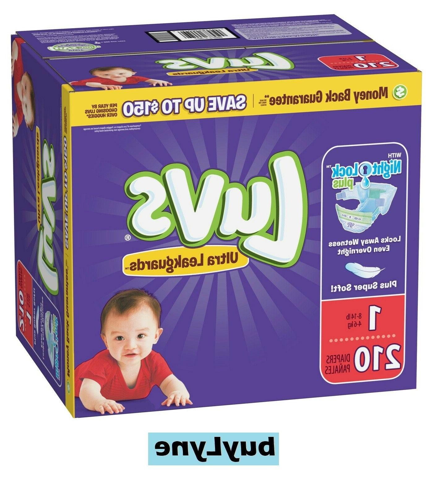 Luvs Diapers - 1