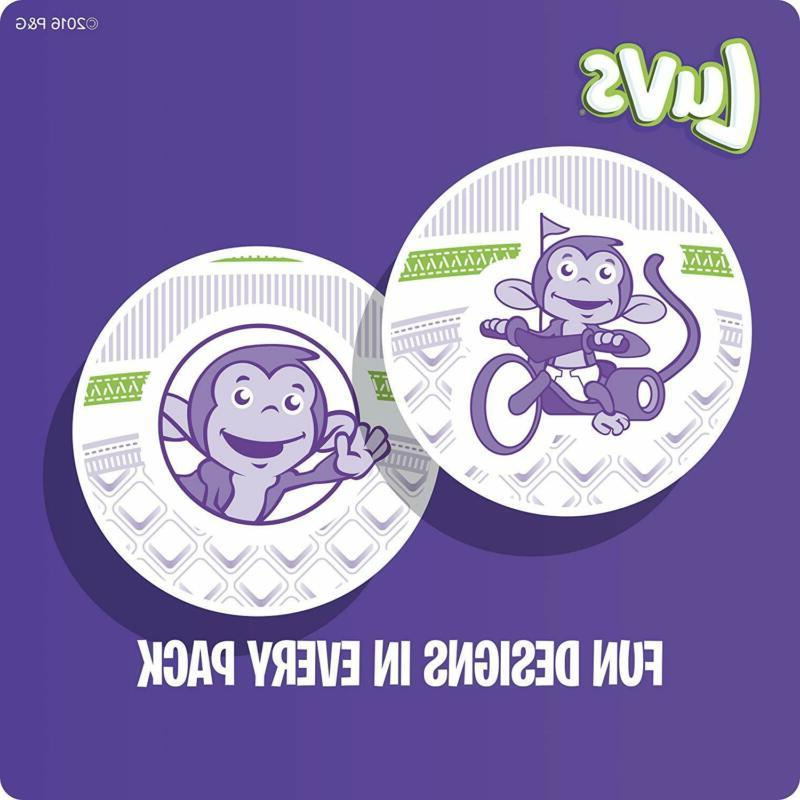 Luvs Leakguards Baby Diapers, 148 SUPP