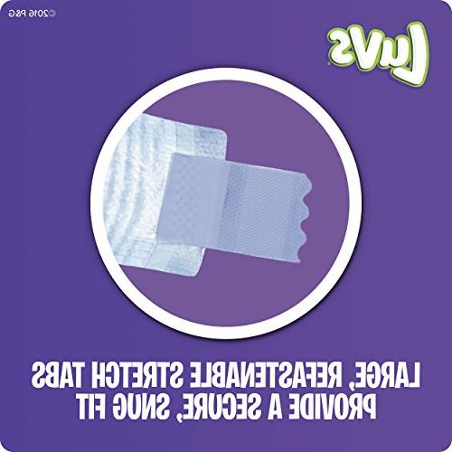 Luvs Leakguards Baby Diapers, Size 198 Count, MONTH SUPPLY