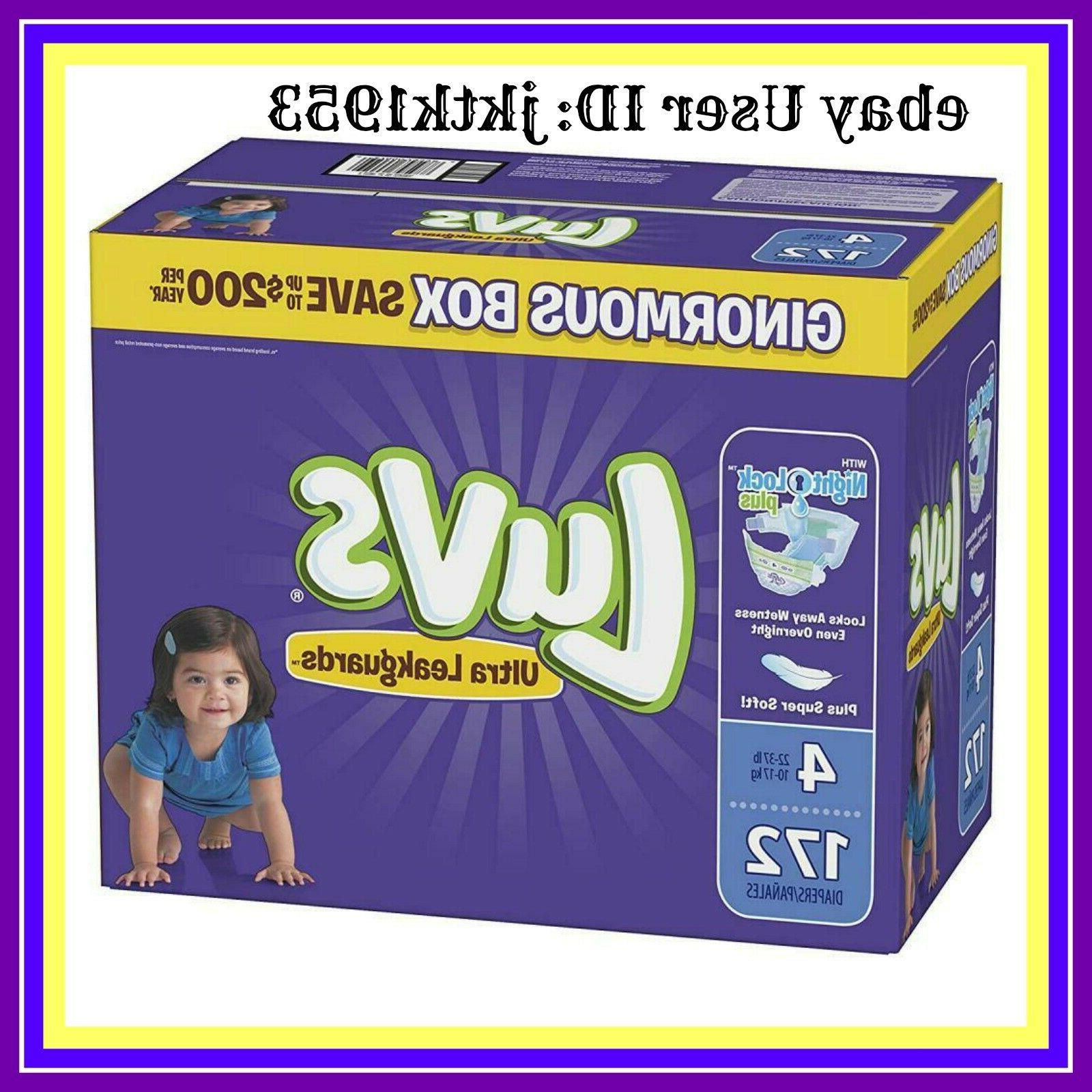 ultra leakguards disposable diapers size 4 172