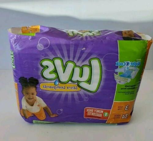 ultra leakguards size 3 diapers 34 pack