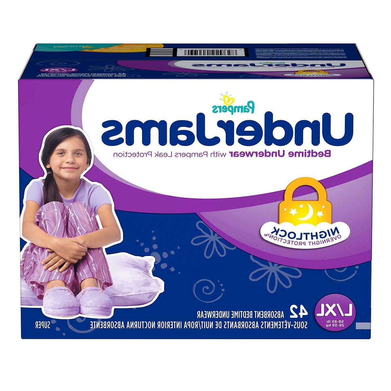 Pampers UnderJams Bedtime Underwear Overnight S/M L/XL
