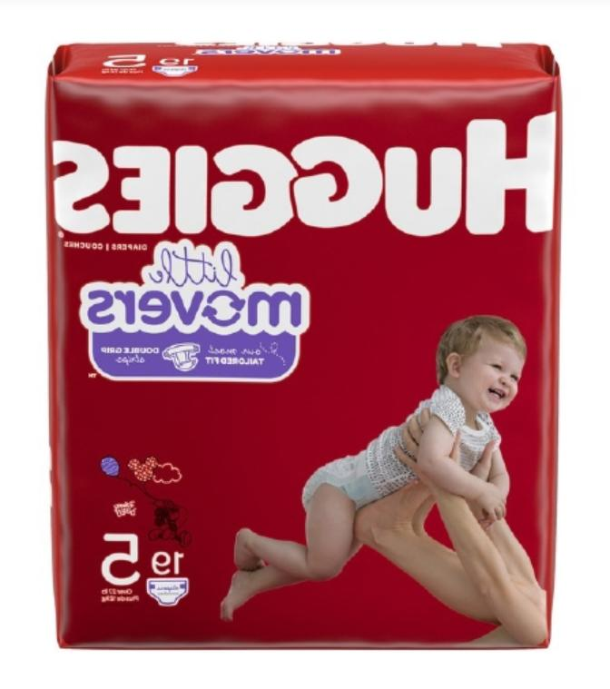 unisex baby diaper little movers size 5