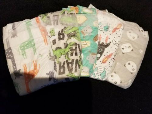 The Honest Company•°°•VARIETY •°• diapers for Reborn or baby doll SZ 1 set of 5
