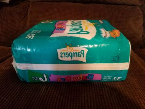 Vintage Baby-Dry Size 6 Diapers Rare unopened