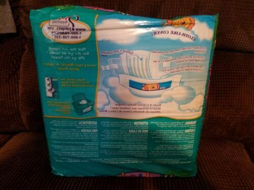 Vintage 32-count Baby-Dry Rare unopened package
