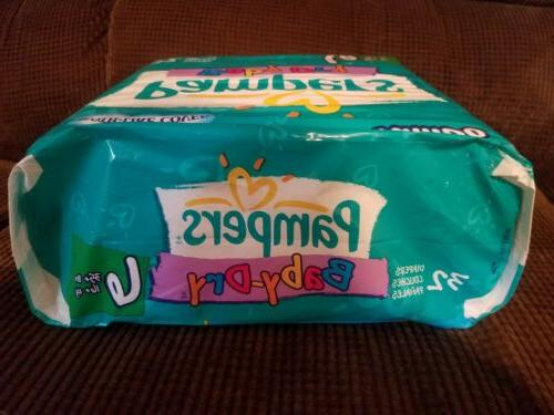 Vintage 2000 Pampers Baby-Dry Size 6
