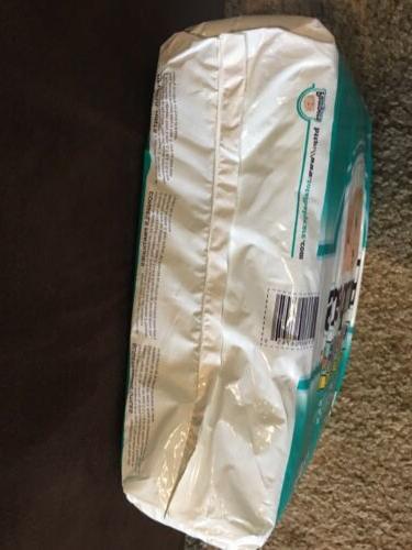 Vintage Pack Of Diapers 1997 Plastic