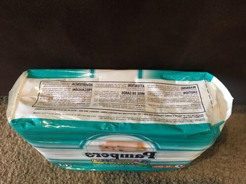 Vintage Pampers Pack Of 34 1997 Back