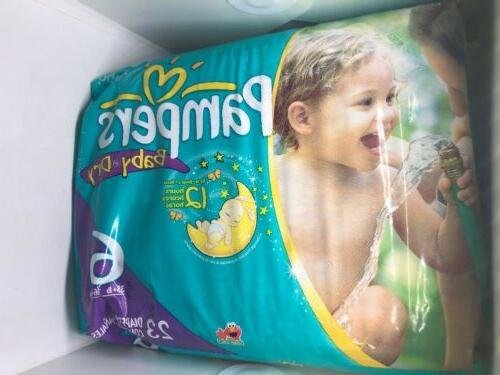 Size 6 - Pounds 23 Diapers