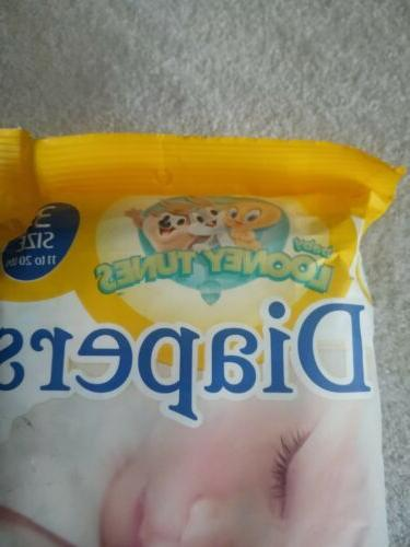 Vintage. Diapers 3 never