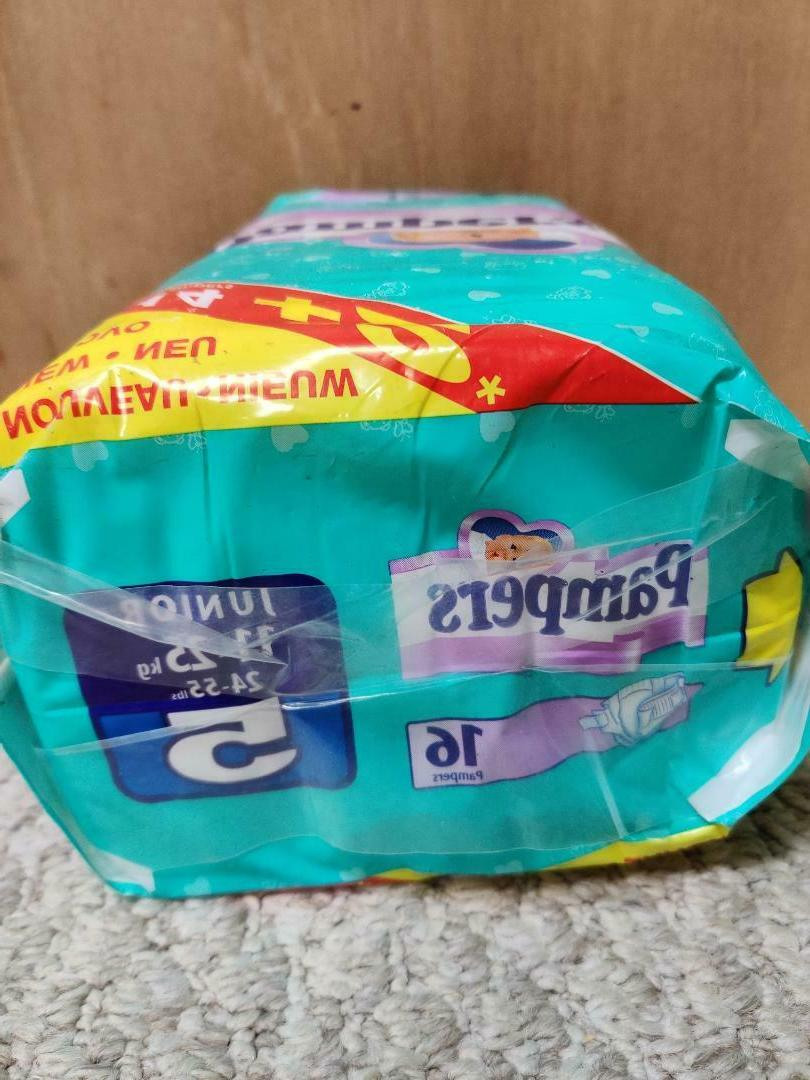Vintage Diapers - - Size 5 - 16 ct