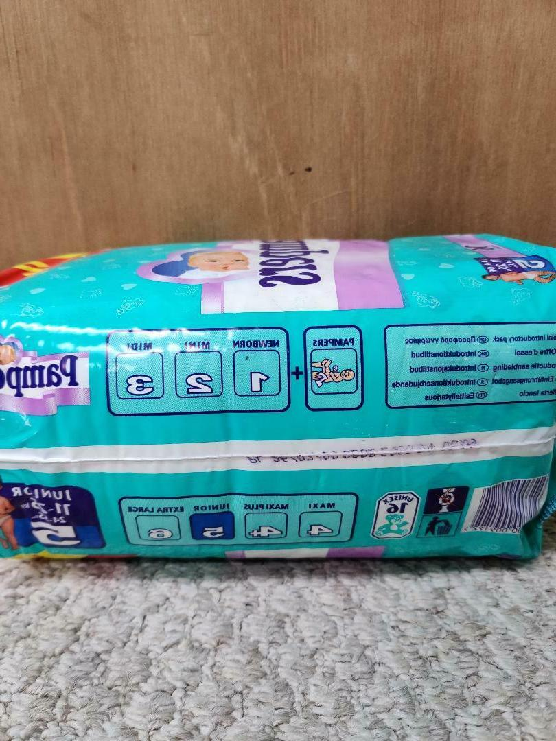 Vintage Pampers Diapers EURO - Size - ct
