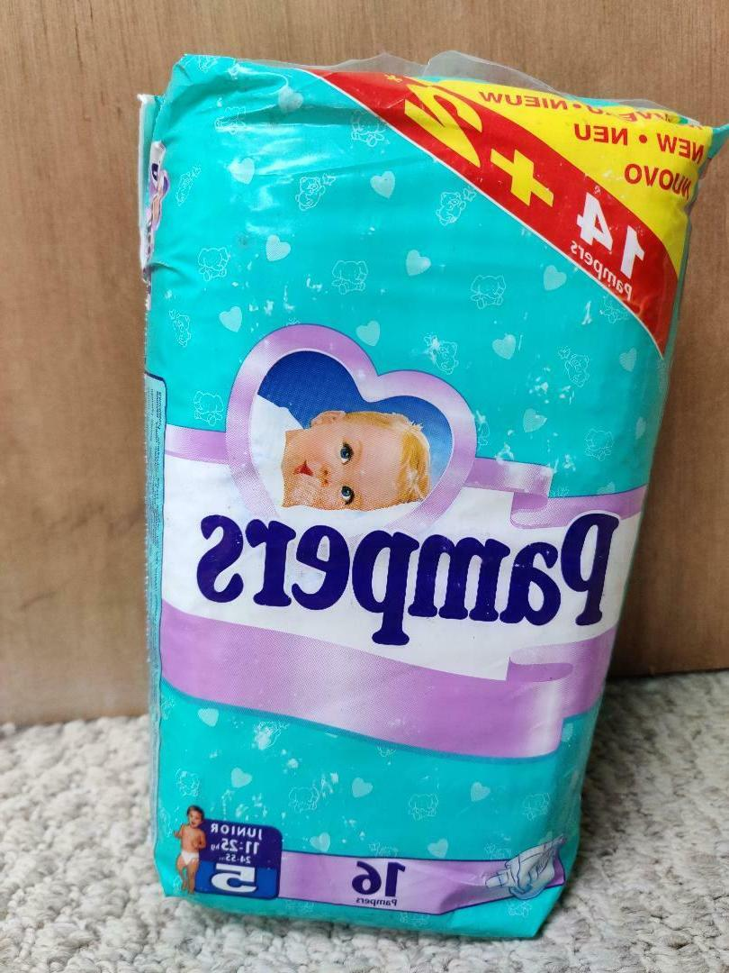 Vintage Disposable Diapers Size - ct