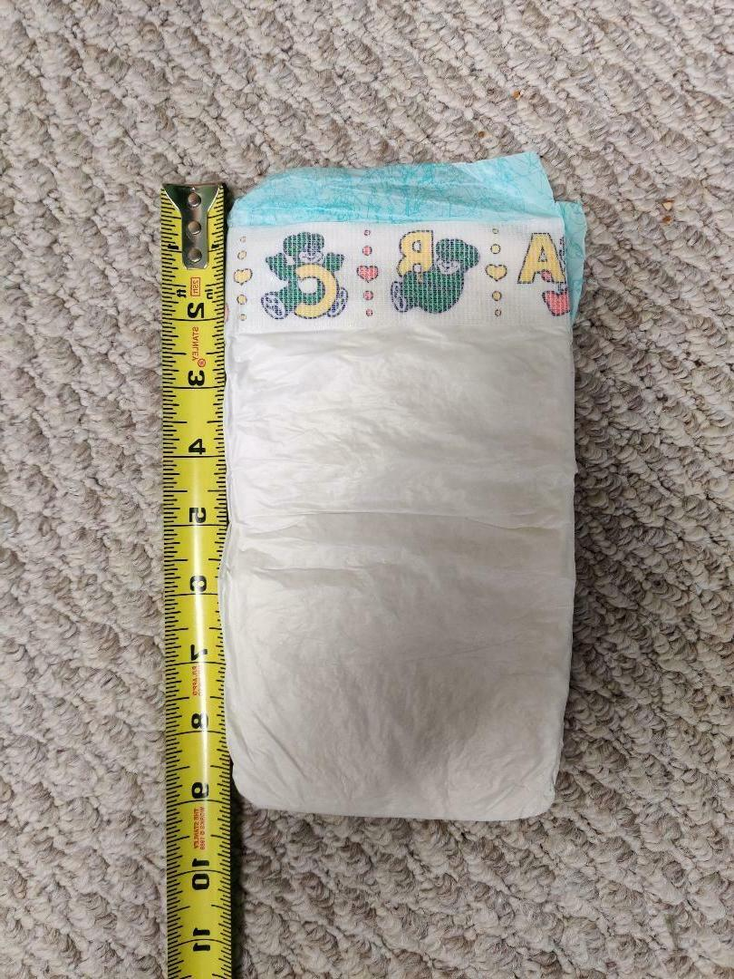 Vintage Pampers Diapers - Size 16 ct