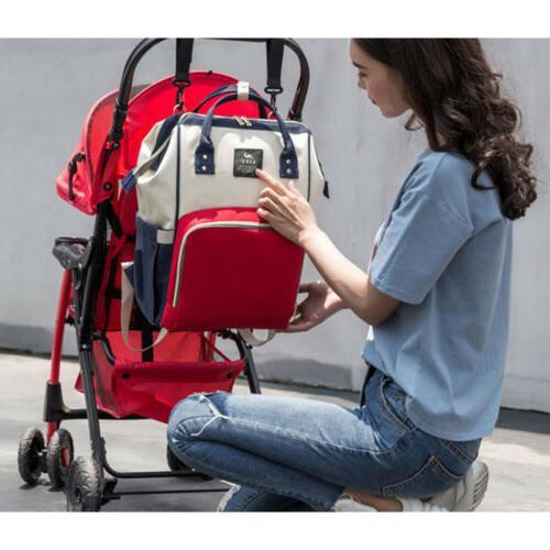Waterproof Baby Bag Mummy School Travel Backpack