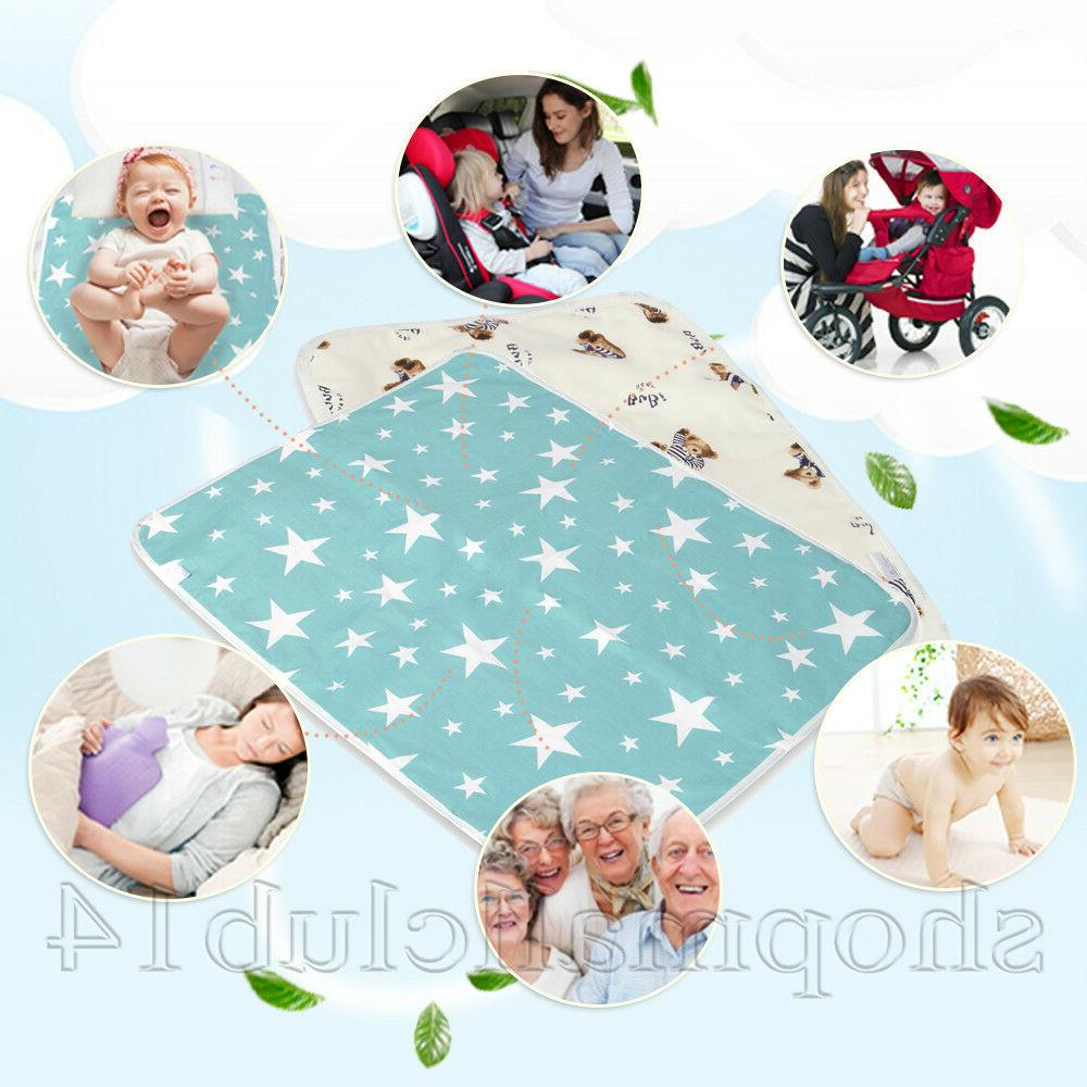 waterproof clean hands changing pad portable baby