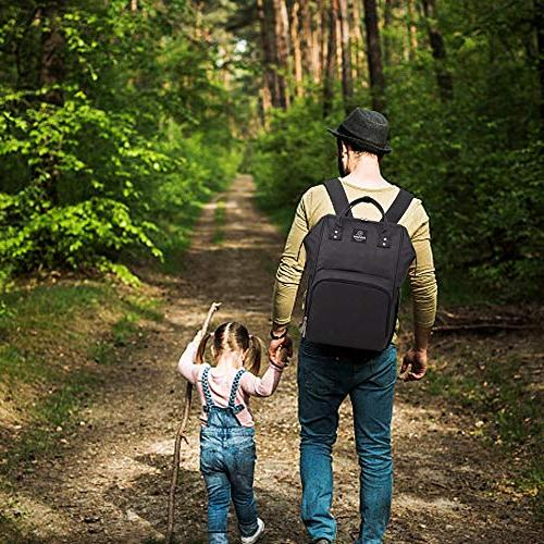 Pipi Bag, Multi-Function Backpack for Mom and Dad, Stylish
