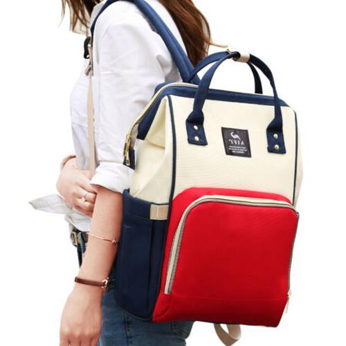 Mummy Maternity Nappy Diaper Baby Backpack Handbag