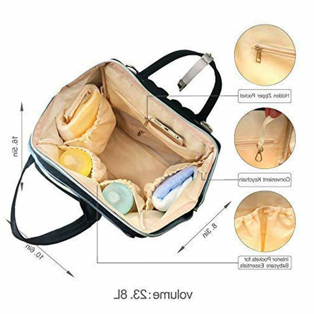 Waterproof Capacity Maternity Mummy Diaper Nappy Travel