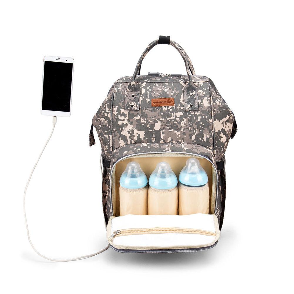 Waterproof Nappy Baby Bag with US