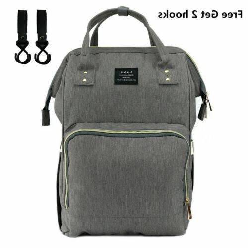 LAND Baby Diaper Bag Nappy Backpack + Stroller