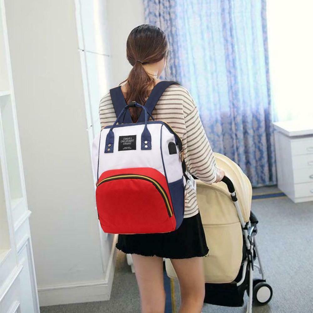 Waterproof Backpack Baby Bottle Holder Travel