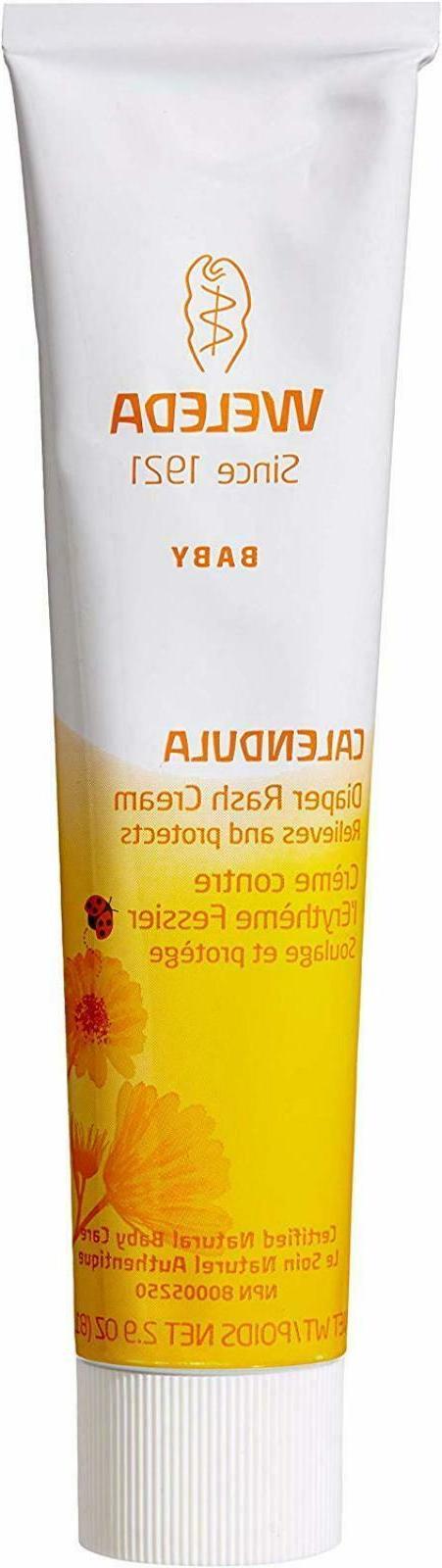 weleda diaper rash cream calendula gentle relief