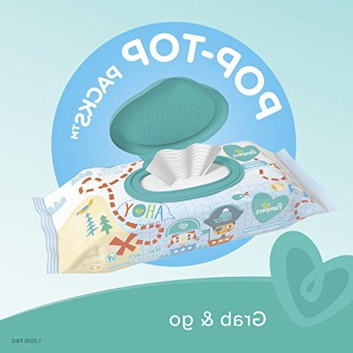 Pampers Baby Clean Scented 10X Pop-Top