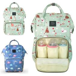 LAND Baby Diaper Bag Nappy Backpack Organizer Maternity Moth
