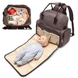 Large Capacity Mummy Bag Baby Diaper Nappy Maternity Changin