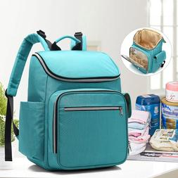 large capacity travel backpack for nappy milk