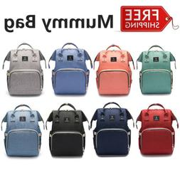 Large Mummy Backpack Diaper Bags Large Multifunctional Baby