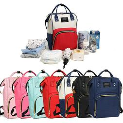 Large Mummy Maternity Nappy Diaper Bag Changing Baby Travel