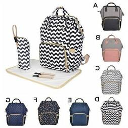 Large Mummy Multifunctional Baby Diaper Nappy Backpack Mom C