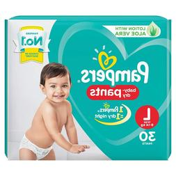 Pampers Large Size  Dry Soft Comfortable Fit Disposable Diap