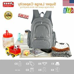 large waterproof baby diaper bag mummy maternity
