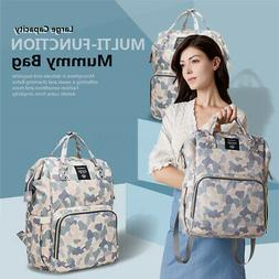 LEQUEEN Baby Diaper Bag Mummy Maternity Nappy BackpackTravel