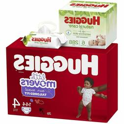 little movers baby diapers size 4 144