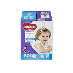 HUGGIES LITTLE MOVERS Diapers, Size 5 , 108 Ct., HUGE PACK ,