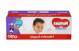 HUGGIES Little Movers Diapers Size 3, 4, 5, 6 One Months Sup