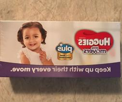 HUGGIES Little Movers Diapers Size 4 22-37 Lbs. Trial Travel