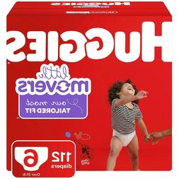 Huggies Little Movers Diapers Size 6 - Count 112