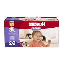 Huggies Little Movers Size 6 Diapers Value Box - 92 Count