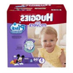 Huggies® Little Movers Plus Diapers Size: 3; 198 Ct Baby Di