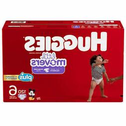 Huggies® Little Movers Plus Diapers Size: 5; 150  Baby Diap
