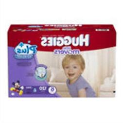 Huggies® Little Movers Plus Diapers Size: 6; 120  Baby Diap