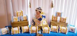 Little Prince Alphabet Baby Block Diaper Cake Baby Shower Ce